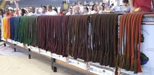 Cordaos podczas ceremoni nadania sznurów.